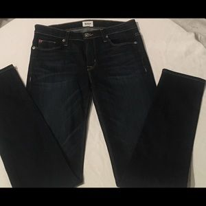 Hudson Colette Skinny Blue Jeans Midrise Size 27